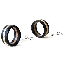 Cool Natural Jewelry - wooden wedding rings