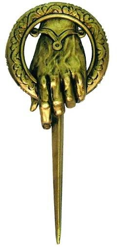 Hand of the King, Game Of Thrones pin