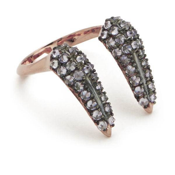 Rose Gold Vampire Fangs Ring From Katie Rowland