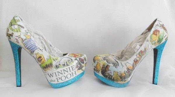 The Elusive Rabbit - Winnie the Pooh Heels
