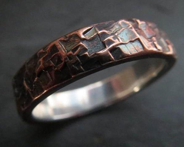 HCS Metalsmiths - Rustic Wedding Ring