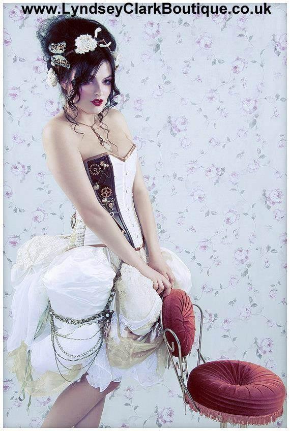 Lyndsey Clarke Boutique - Steampunk Victorian Corset