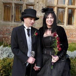 Goth Couple Talk Alternative Ceremonies & Wedding Photography