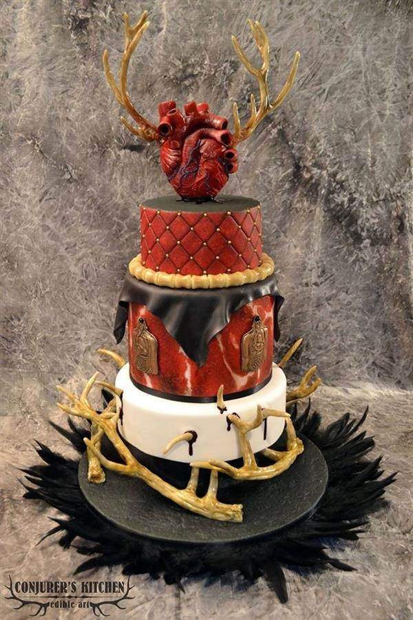 Creepy cake from Conjurer's Kitchen