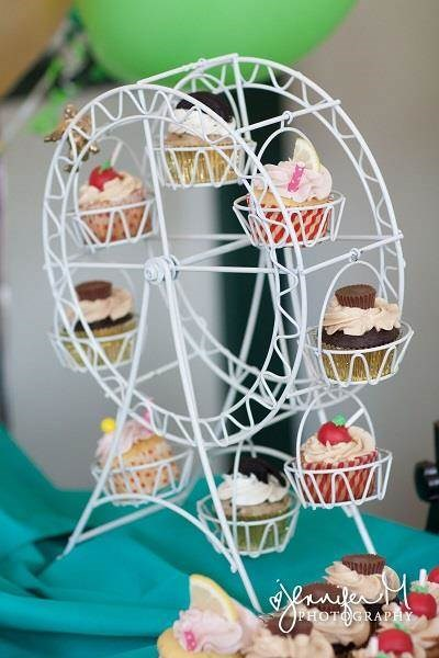 Carnival wedding big wheel cakes