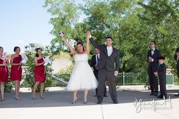 Woohoo! We're married!