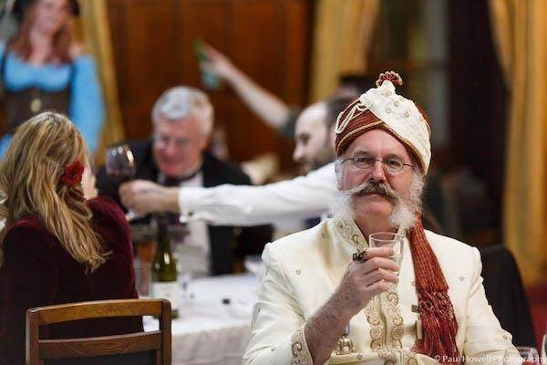The Colonel at a Steampunk Wedding