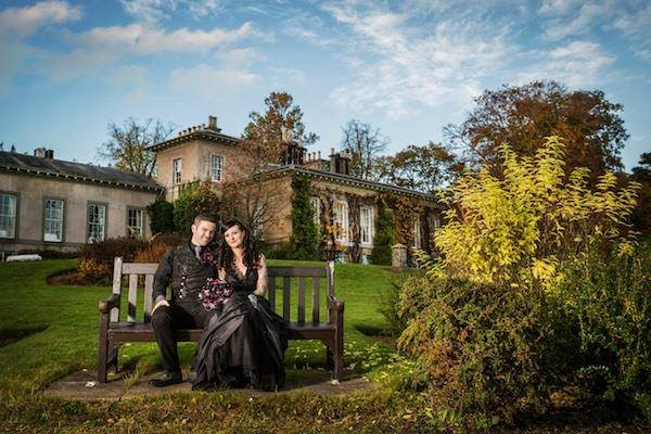 Halloween wedding at Thainstone House, Aberdeenshire