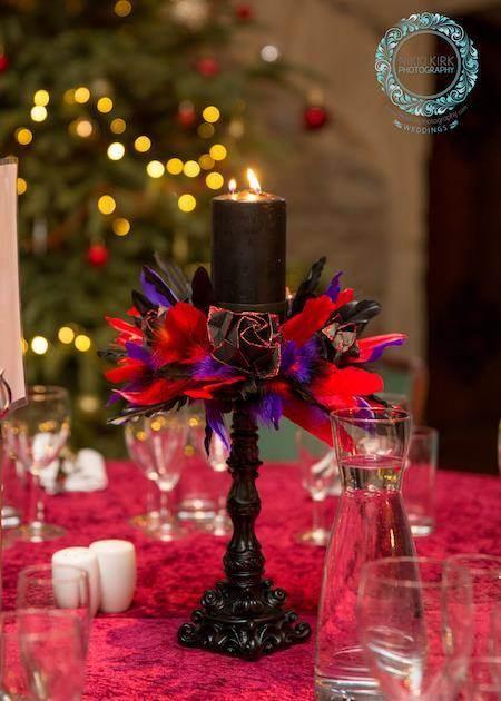 Aimee And Davids Gothic Wedding At Thornbury Castle Misfit Wedding