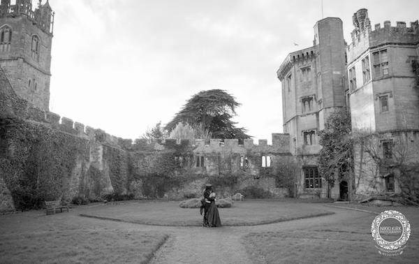Gothic wedding venue - Thornbury Castle.