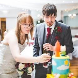 Claire & Martin's Vintage Geeky Gamer Wedding