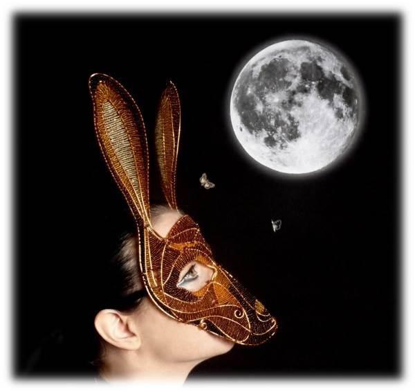 Hare Masquerade Mask