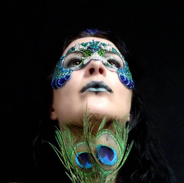 Peacock Masquerade Mask