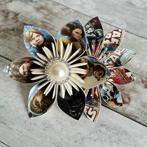 Star Wars origami buttonholes