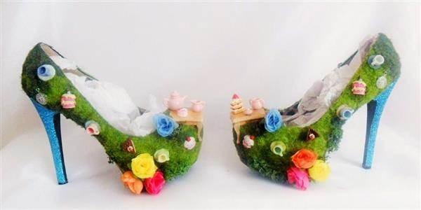 3D Alice in Wonderland Shoes