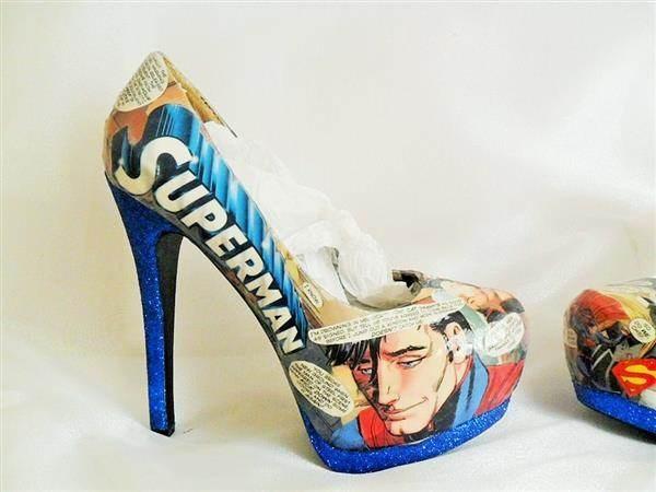 Superman High Heels!