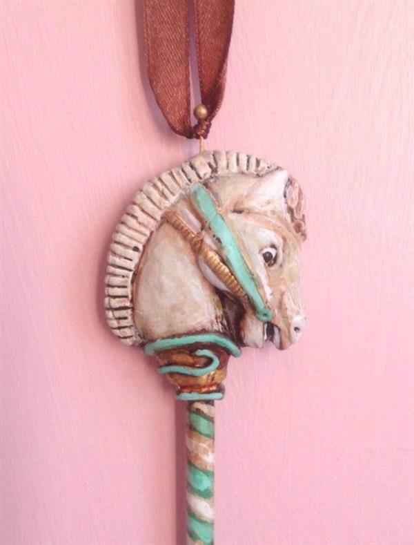 Merry-go-round Horse Pendant