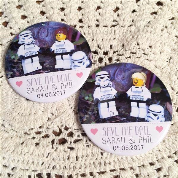 Lego Star Wars Save the Date magnets