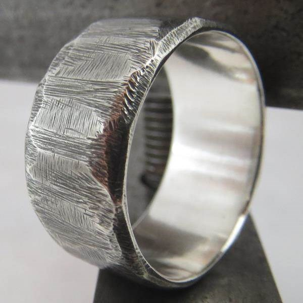 Stand out with an unusual wedding ring from Boot and Hammer