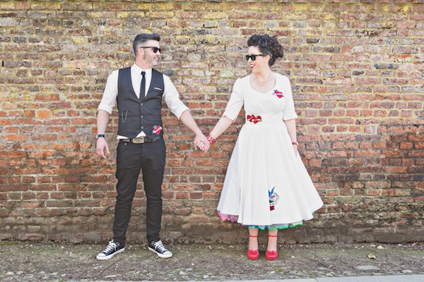 Alternative wedding photograpy from Lorna Lovecraft | Misfit Wedding