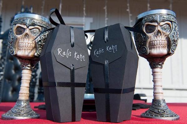 A Satanic wedding | Misfit Wedding