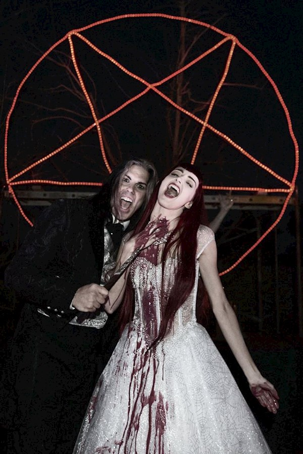 Horror filled Satanic wedding | Misfit Wedding