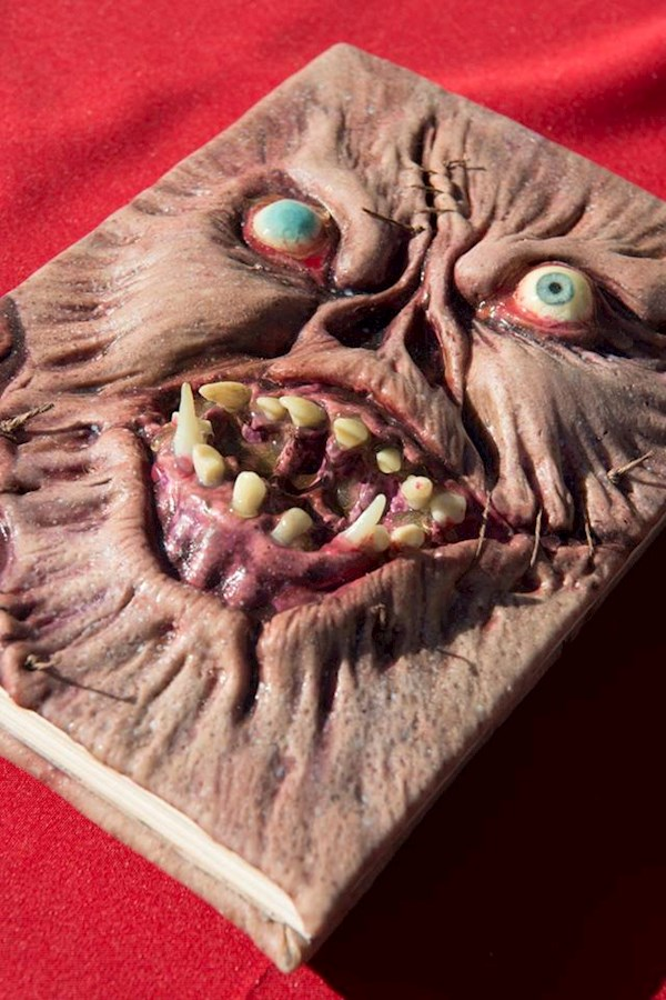 Necronomicon, of Evil Dead fame, guestbook | Misfit Wedding