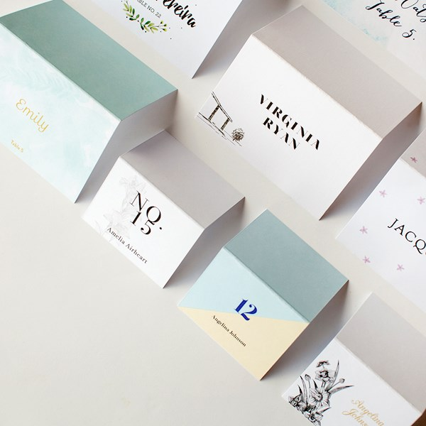 Place Cards to Match
