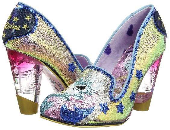Irregular Choice unicorn heels | Misfit Wedding