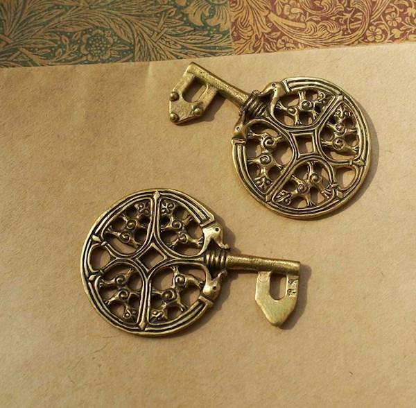 Viking Key on etsy by Legends Gardarike