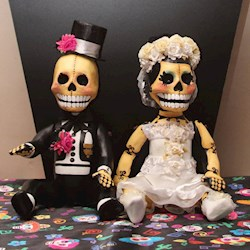 Nic and Craig's Day of the Dead Wedding