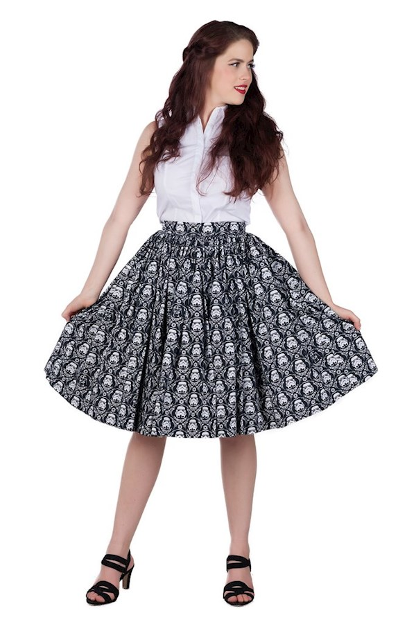 The Perfect Storm, Star Wars skirt from Sarsparilly | Misfit Wedding