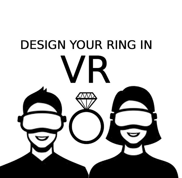 Groundbreaking VR Custom Ring Design from Alien Forms | Misfit Wedding