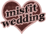 Misfit Wedding Logo Small